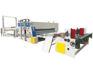 NP Series Semi-auto Printing Slotting Die-cutting Machine