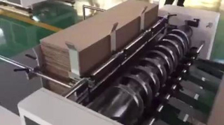 Corrugated Sheet Box Lattice Making Pratition Slotting Machine