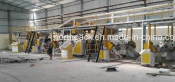 5 Layers Automatic Corrugated Paper Production Line