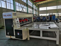 Chain Feeder Corrugated Sheet Rotary Slotting Creasing Carton Machine