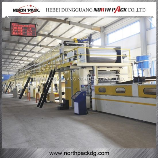 Seven-Layer Corrugated Paperboard Production Line