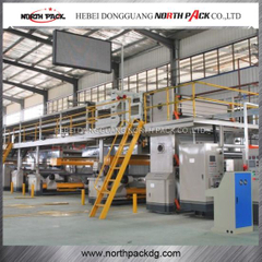 3/5/7 Ply High Speed Corrugated Cardboard Production Line