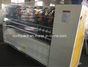 Electric Blade Adjusting Thin Blade Slitting And Scoring Machine