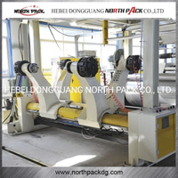 Shaftless Hydraulic Mill Roll Stand Corrugation Sheet Making plant machine